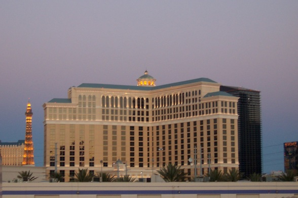The Bellagio in Twilight