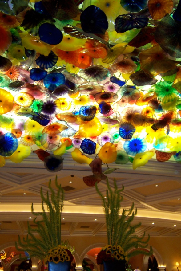 Bellagio umbrella ceiling
