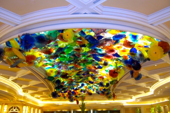 Chihuly Ceiling at the Bellagio